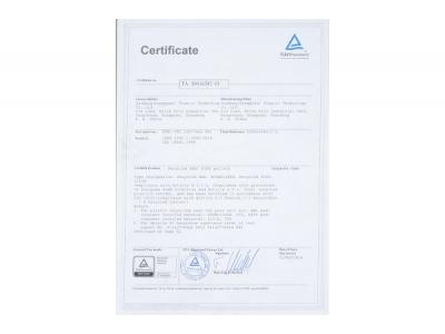 TUV certification-01