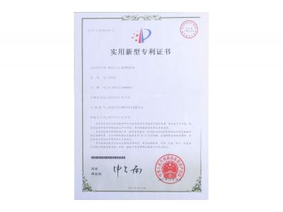 Magnet Holder for Plastic Defects Treatment-Patent Certificate